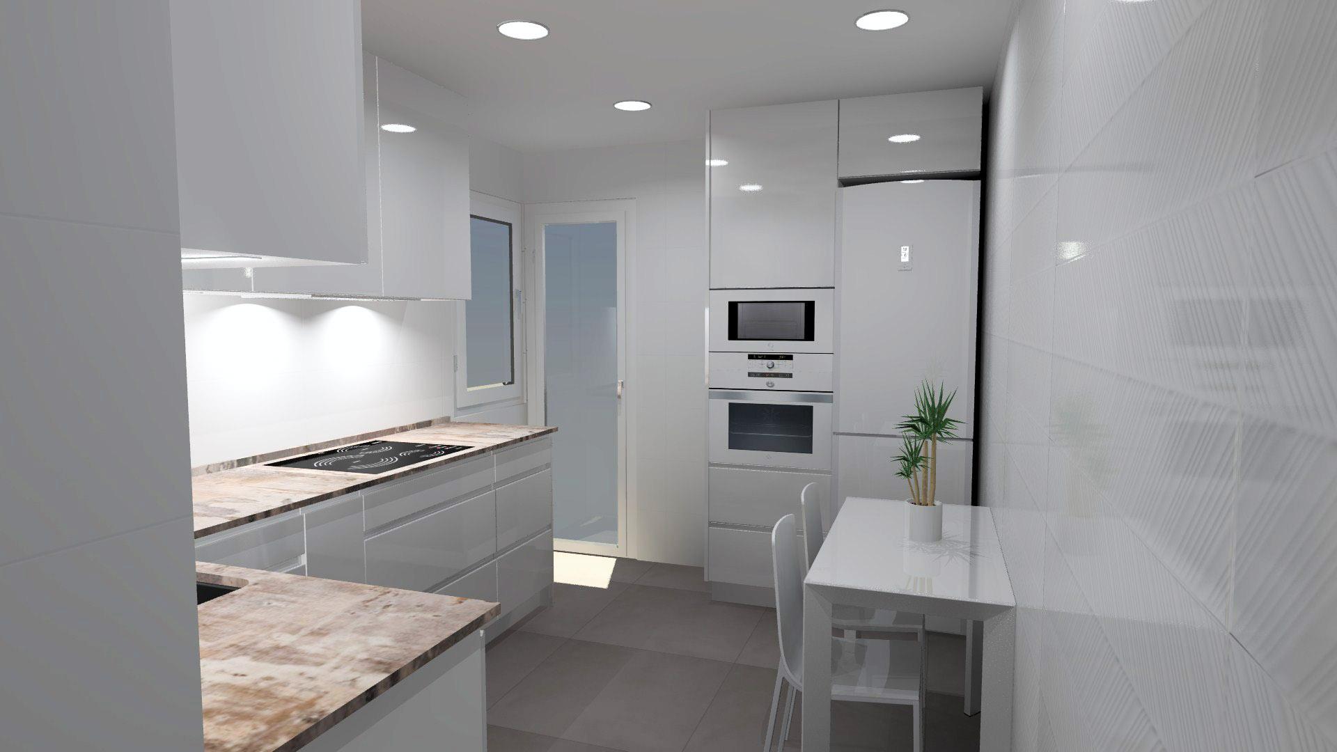 Planos en 3D- Estudio de cocinas