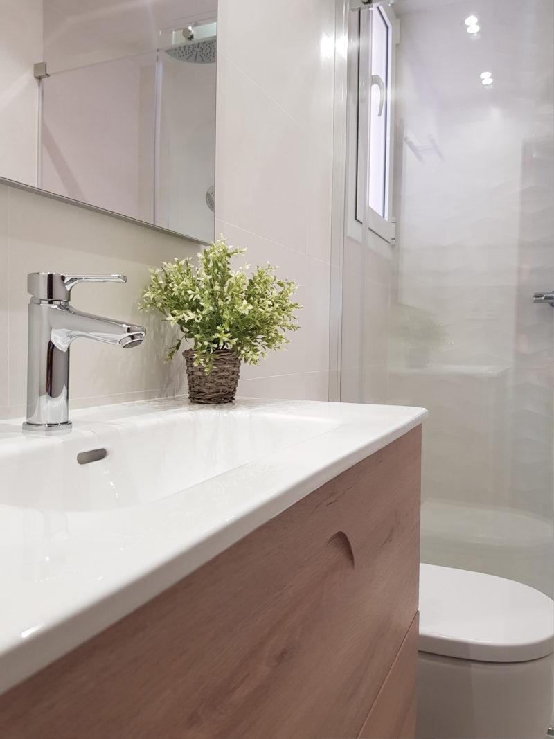 Reforma integral de cocina y baño en Zaragoza